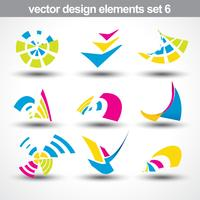 abstract shape vector