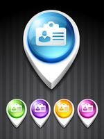 icono de tarjeta de identidad