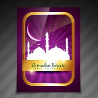 fundo do festival islâmico