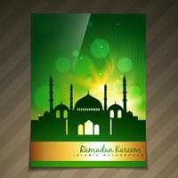 plantilla de festival islámico brillante