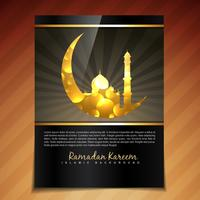 modèle de festival de ramadan de vecteur