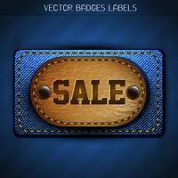 etiqueta de venta vector