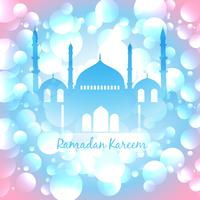 kleurrijke islamitische achtergrond