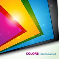 modèle de vecteur coloré