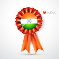 indian flag label