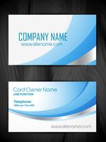 creative business card template design