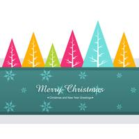colorful christmas greeting