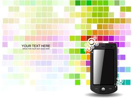abstracte telefoon