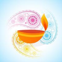 bunter Hintergrund von Diwali