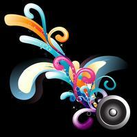 fondo de musica vector