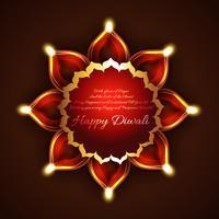 Arrière-plan créatif de diwali