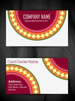 beautiful artistic business card design