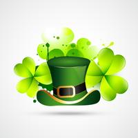 abstract style st. patrick's day vector