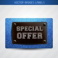 jeans special offer label