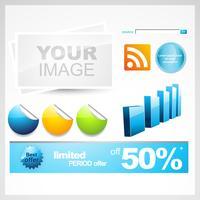 web infographic elementen