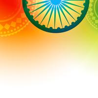 stylish indian flag vector