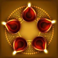 Diwali Diya Hintergrund