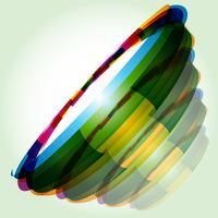 vector shape circular design