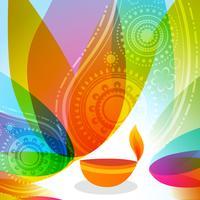 sfondo colorato di diwali