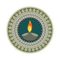 buntes glückliches Diwali