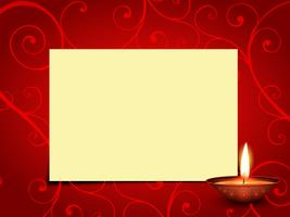 vecteur salutation diwali