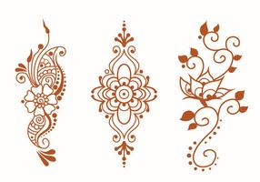 Henna Art Vector Pack