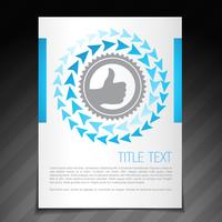 achievement flyer brochure poster template design