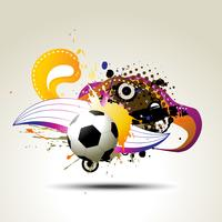 football vector artistic design
