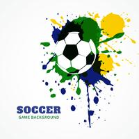 diseño de vectores de fútbol