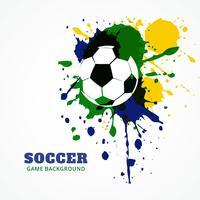 fotboll vektor design