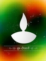 fundo criativo de diwali