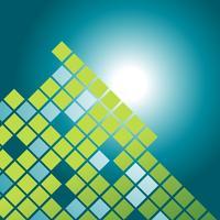 diseño de patrón de mosaico de vector