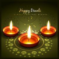 conception de voeux diwali