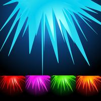 abstract shape background set vector