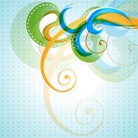vektor färgrik blommig