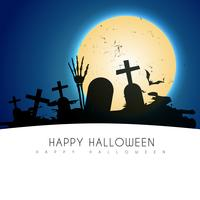 illustration de conception de Halloween