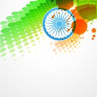 projeto de bandeira indiana de vetor