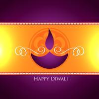 conception de festival de vecteur de diwali