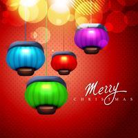 lámparas de navidad