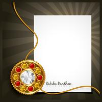rakhi vector background