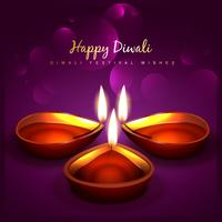 stilvoller Diwali-Hintergrund