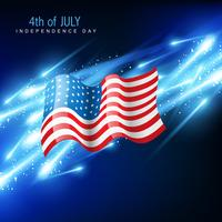 amerikanska flaggan vektor