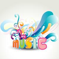 conception de musique de vecteur