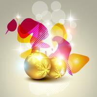bola de navidad artística