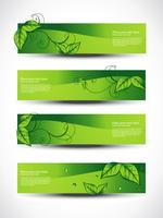 eco headers set of four