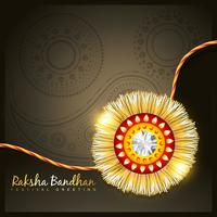 golden rakhi