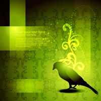 vector beautiful bird artwork