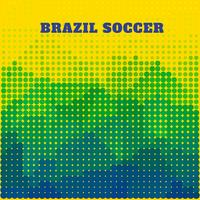 design di calcio brasiliano