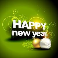 nouvelle année et design de noël