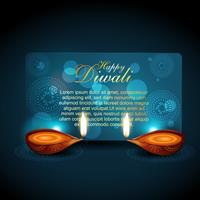 fundo brilhante de diwali